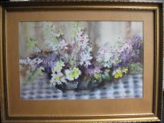 Diósy Antal - Virágcsendélet